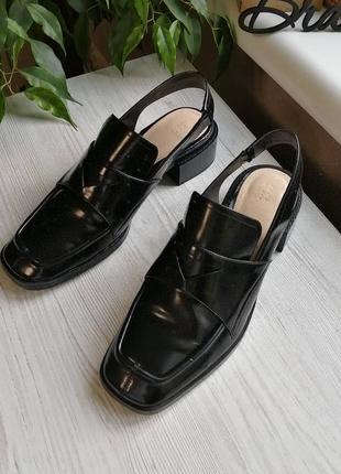 Стильные босоножки мюли лодочки туфли