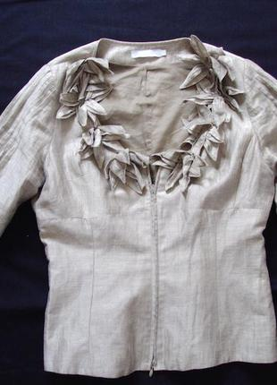 Пиджак rachel ,лен ,оригинал.класс люкс
