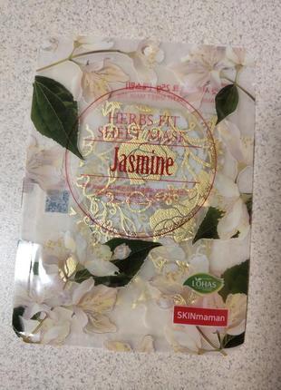 Nohj skin maman herbs fit sheet maskтканевая маска с экстрактом жасмина