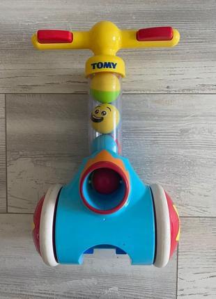 Рзвивающая игрушка-каталка, стрелялка «pic&pop»