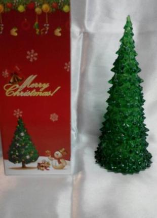 Светодиодная елка 22 см.