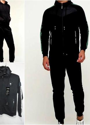 Стильные теплые мужские спортивные костюмы,  выбор размеров