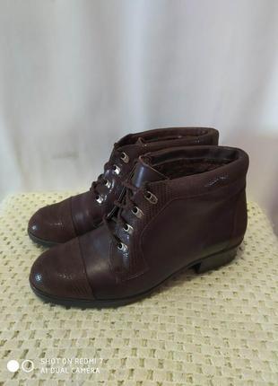 Кожаные ботинки goldrone