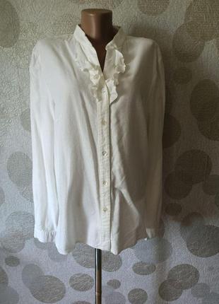 Винтажная блуза рубашка шерсть в составе