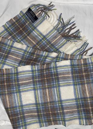 Кашемировый шарф в полоску lyle&scott