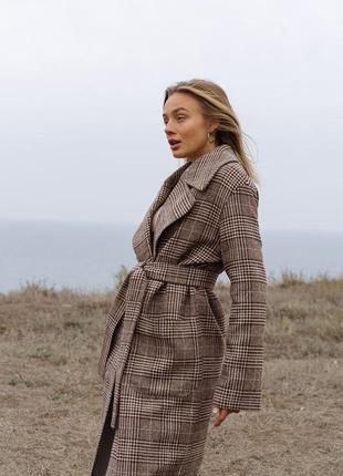 Крутое тёплое пальто