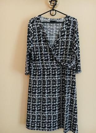 Батал большой размер шикарное нарядное стильное платье платьице плаття
