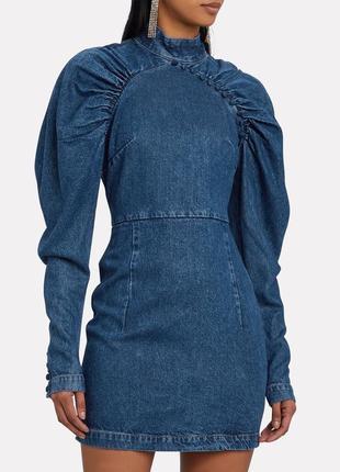 Потрясающе стильное джинсовое платье rotate birger christenten. цена на сайте 260€