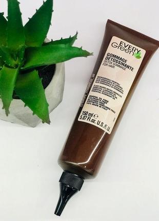 Гомаж для шкіри голови dikson every green detox gommage