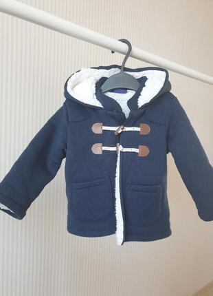 Куртка мєховушка lupilu 74-80