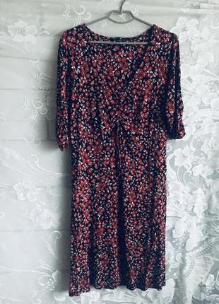 Батал большой размер стильное натуральное платье платьице плаття