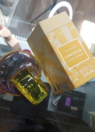 Bvlgari omnia golden citrine 65мл