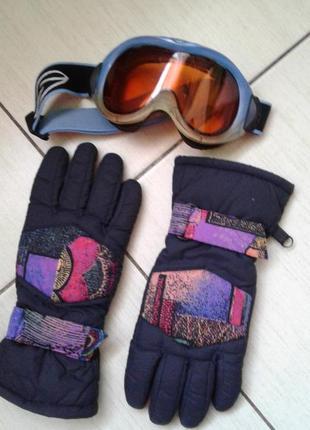 Термо перчатки m