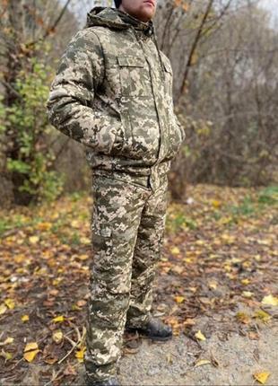 Мужской костюм рыбальский зима