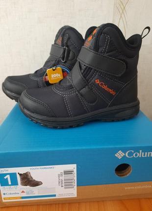 Зимние ботинки columbia. оригинал.