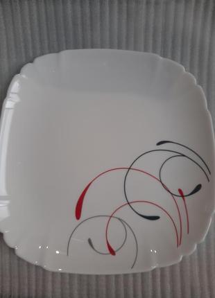 Тарелка,стеклокерамика