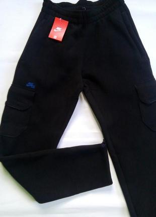 Очень теплые мужские спортивные штаны.