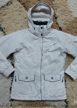 Зимняя спортивная лыжная термо куртка с подстежкой columbia с-м (2 в 1)