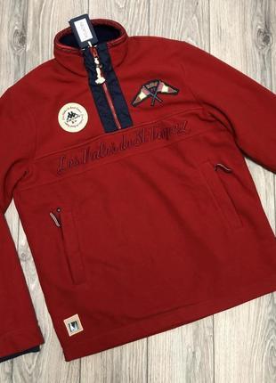 Новая флисовая куртка свитшот kappa размер l .