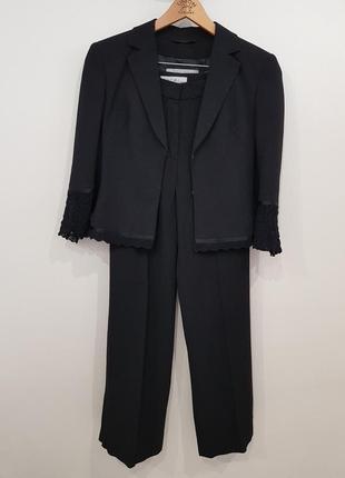 Стильный костюм брюки штаны пиджак жакет marc cain
