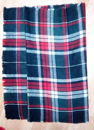 Шарф одеяло италия  зима