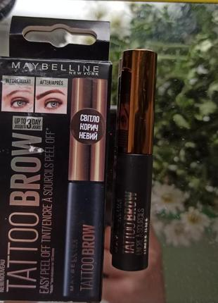 Maybelline tattoo brows