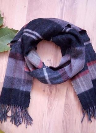 Теплый шарф кашемир премиум от warren & parker