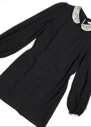 Нарядное платье свободного кроя new look zara atmosphere boohoo