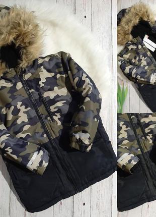 ❄зимняя курточка-парка❄