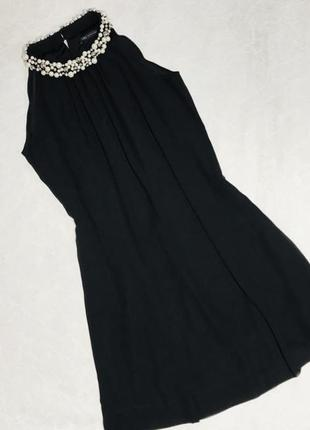 Шикарное легкое шифоновое платье boohoo zara mango new look