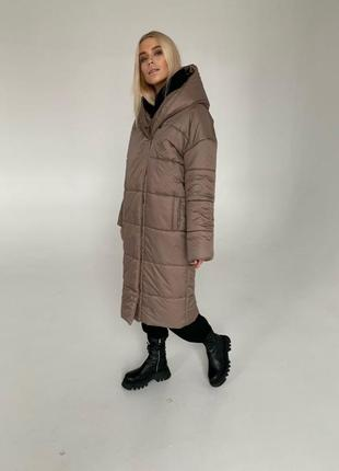 Тёплый пуховик пальто 🧥