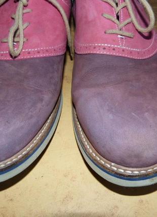 """Туфли нубуковые, стильные, бренд """"1901""""  )к62 фото"""