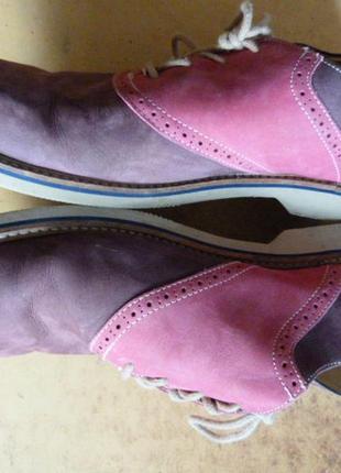 """Туфли нубуковые, стильные, бренд """"1901""""  )к63 фото"""