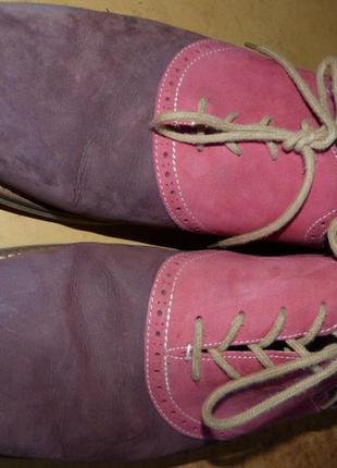 """Туфли нубуковые, стильные, бренд """"1901""""  )к67 фото"""