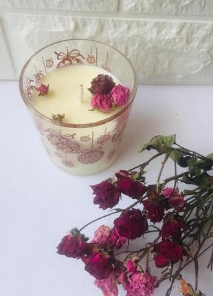 Соєва аромасвічка шампань