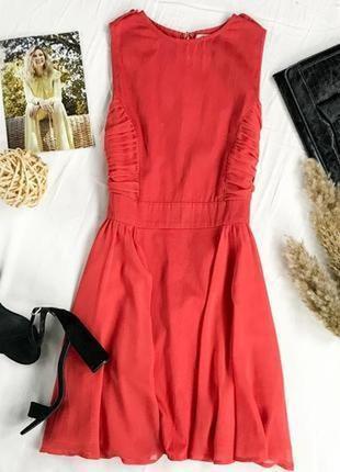 Платье с драпировкой и воздушной юбкой  dr1949016  asos