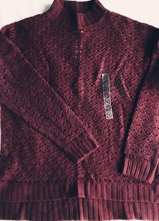 Вязаный свитер от с&а