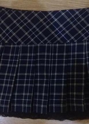 Симпатичная юбочка в складку