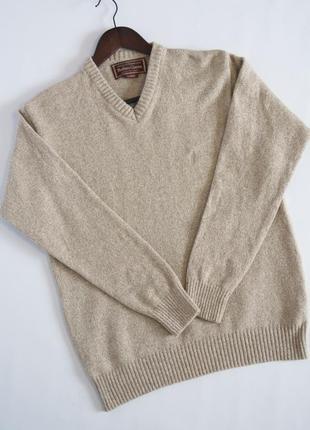 Мужской свитер, джемпер,  marlboro classics, шерсть