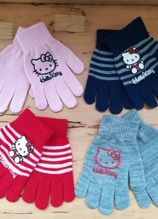 Яркие перчатки ❤️ для девочки