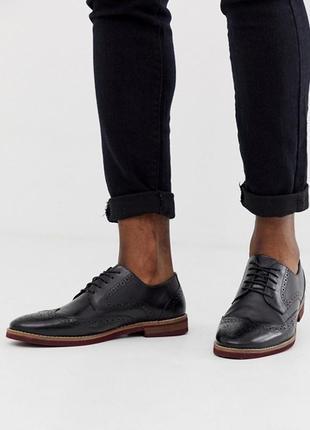 Туфли, ботинки, броги кожа