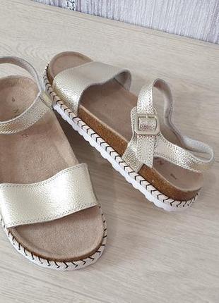 Next кожаные сандалии босоножки