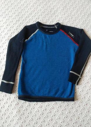 Термореглан з мериносової шерсті термобілизна футболка термо лонгслив термобелье шерстяное