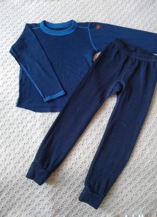 Термобілизна з мериносової шерсті реглан термо штани футболка комплект термобелье поддева