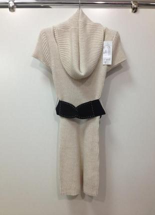 Туника, свитер с поясом
