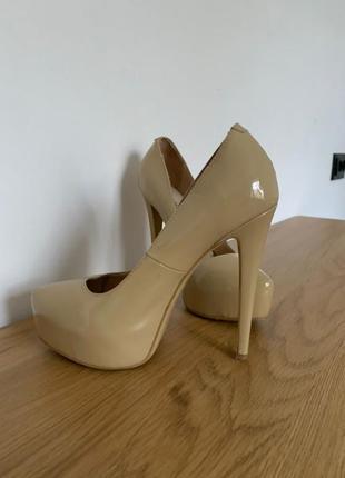 Туфли antonio biaggi 36 размер из натуральной лакированной кожи