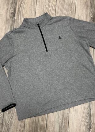 Свитшот кофта с горлом adidas размер xxl.