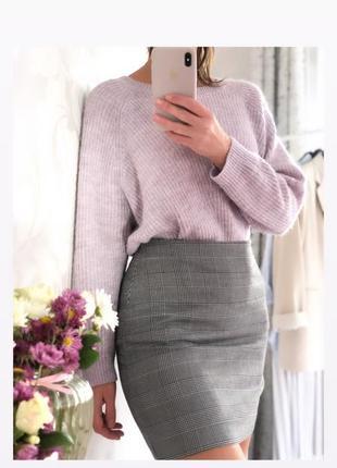 Лиловый свитер 😍m размер f&f