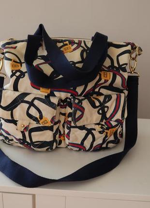 Tommy hilfiger оригинал сумка большая сумка велика vintage винтаж