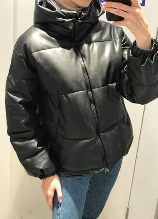 Куртка из искусственной кожи тренд 2020!!!🤩